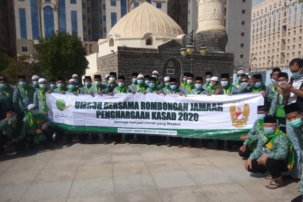 Tiba di Madinah, Rombongan Jamaah Umrah Penghargaan KSAD Lakukan Karantina