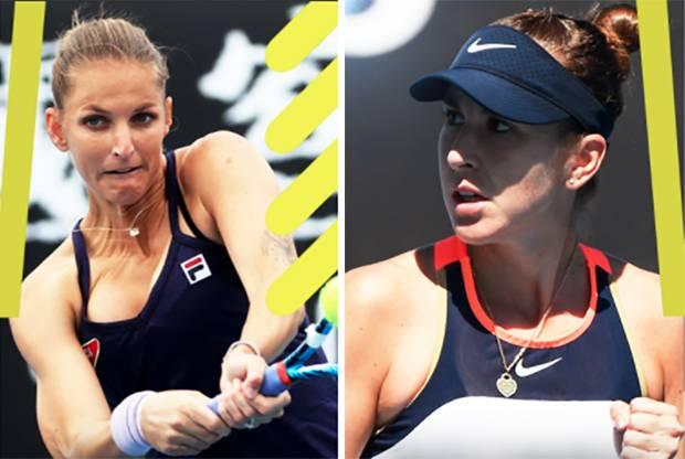 Australian Open 2021: Si Cantik Bencic dan Pliskova Tersingkir di Babak Ketiga