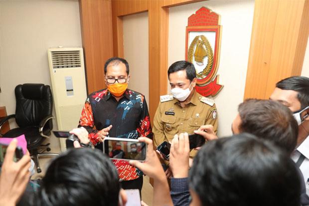 Pj dan Wali Kota Makassar Terpilih Ketemu Bahas Lelang Jabatan