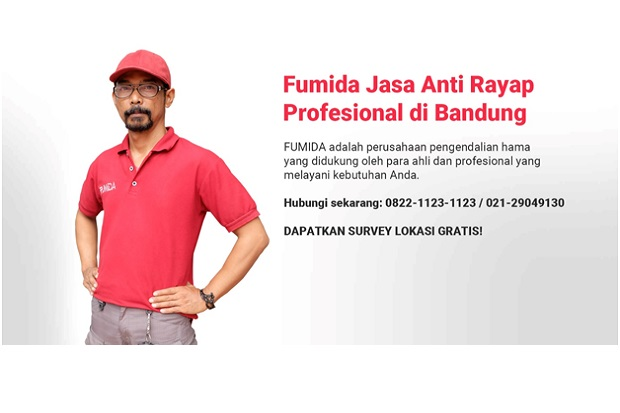 Fumida, Jasa Anti Rayap di Bandung Terbaik