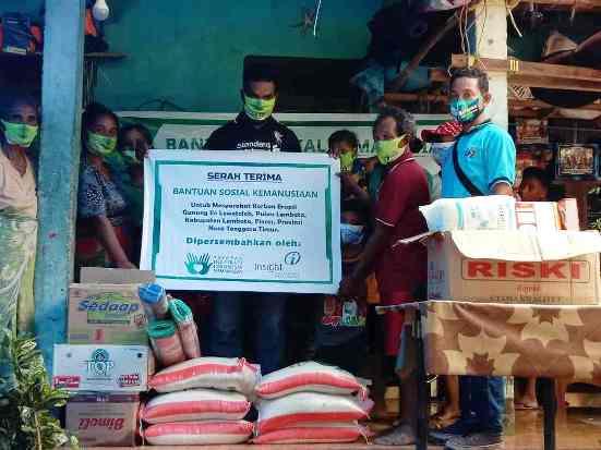 Insight-YIIM Salurkan Bantuan bagi Korban Bencana di Sulbar dan NTT