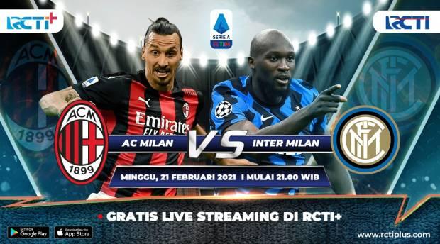 RCTI Plus Siarkan Milan vs Inter; Hernandez Beberkan Rahasia Ibrahimovic