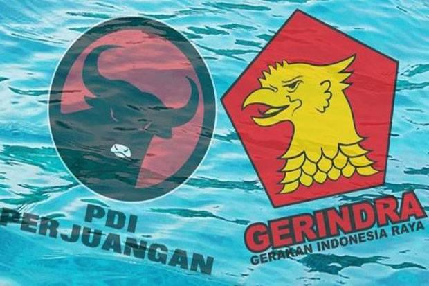 Survei: PDIP Kokoh di Puncak, Gerindra Tercecer ke Posisi Tiga