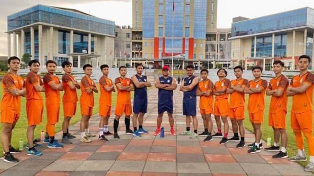 Strategi Tim Futsal Jatim Hadapi PON 2021: Sparing dengan Tim Sepak Bola