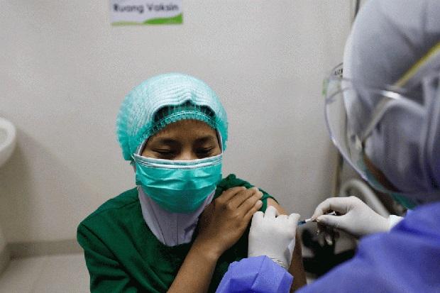 Vaksinasi Covid-19 Tenaga Kesehatan Sudah Mencapai 86,46%