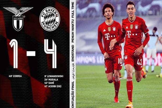 Bayern Muenchen, Tim Bertabur Rekor di Liga Champions