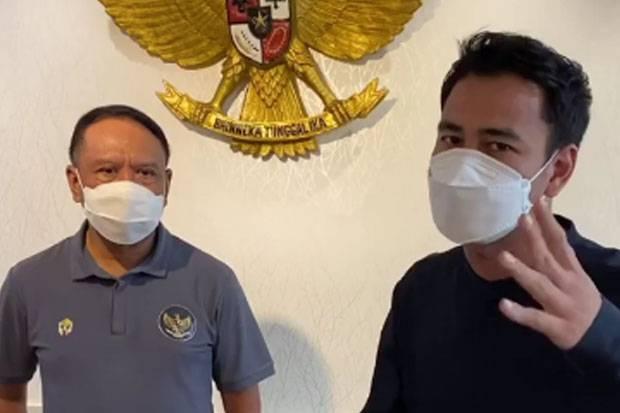 Sepak Bola Bangkit, Raffi Ahmad Kampanye Nonton Piala Menpora 2021 di Rumah Saja