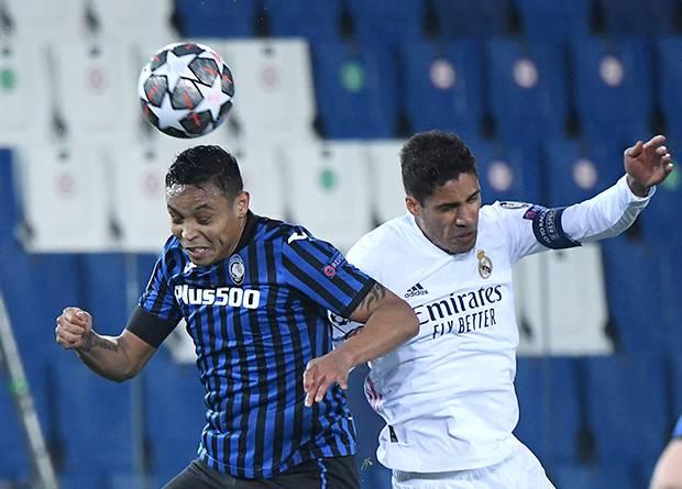 Real Madrid Susah Payah Menang Lawan 10 Pemain Atalanta
