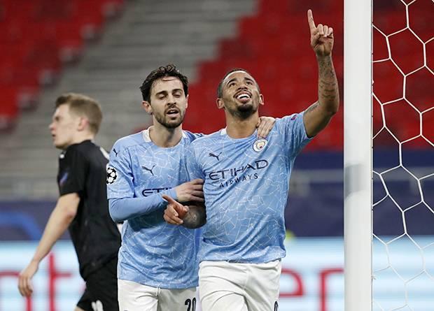 Bungkam Moenchengladbach! Satu Kaki Manchester City di Perempat Final