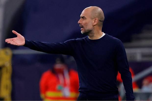 Guardiola Kesal Pemain City Kurang Tajam di Depan Gawang