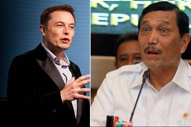 Soal Tesla Pilih India, Luhut: Kami Tak Pernah Bicara Pabrik Mobil
