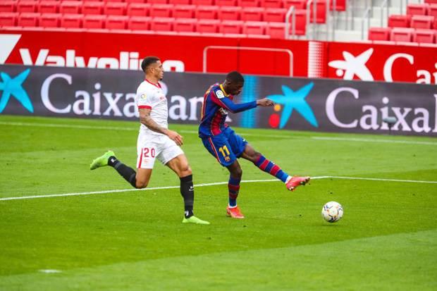 Kutukan Messi Berakhir, Dembele Top Skor Ketiga Prancis di Barcelona