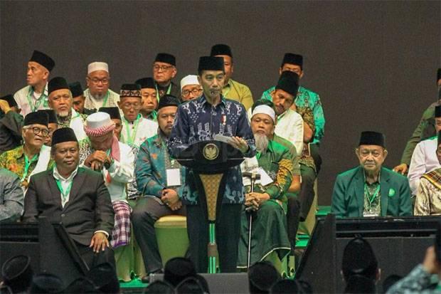 Harlah ke-98 NU, Jokowi: Hampir 1 Abad Jadi Benteng Pembela Pancasila