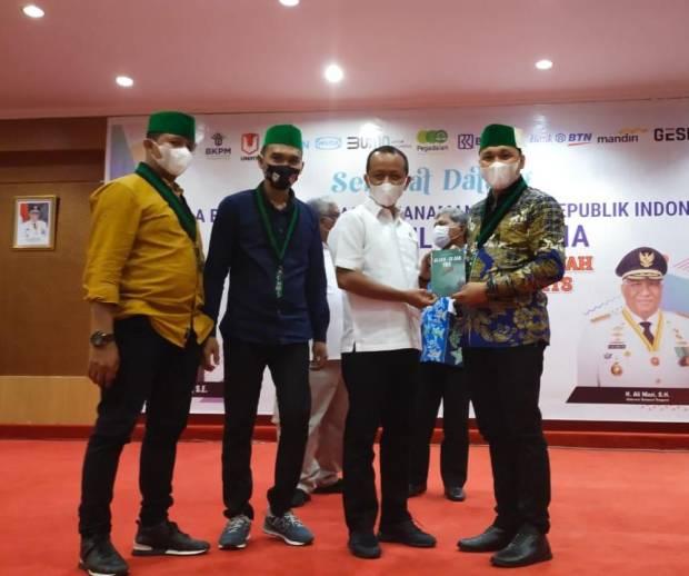 Aktivis HMI Muhammad Ikram Pelesa Luncurkan Buku Jejak-Jejak Ide