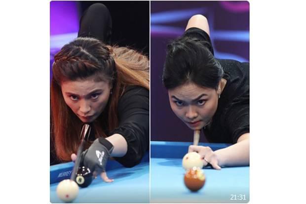 Turnamen Biliar Hot Nine: Dua Atlet DKI Jakarta Perebutkan 1 Tiket 8 Besar