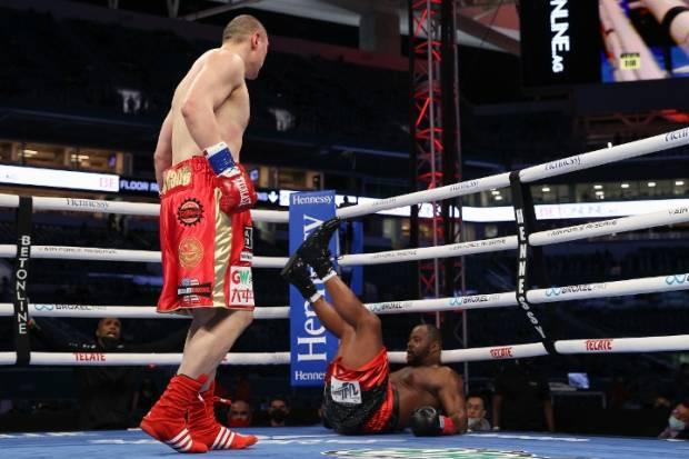 Gagal Menang KO, Mimpi Zhang Zhilei Balas Anthony Joshua Ambyar!