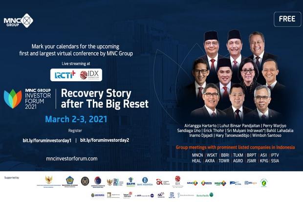 HARI INI! Super Meriah, Ribuan Investor Global 125 Negara & Domestik Hadiri MNC Group Investor Forum 2021!
