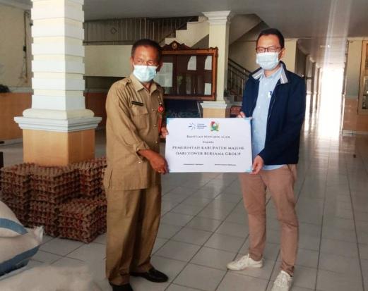 TBIG Salurkan Bantuan bagi Korban Gempa Mamuju-Majene