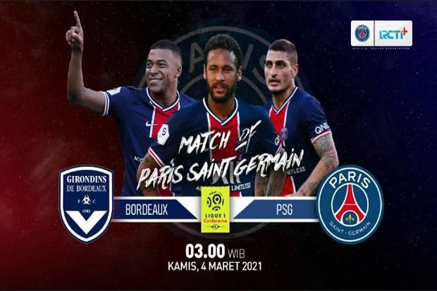 Live Streaming Bordeaux vs PSG: Bukan Ajang Nostalgia
