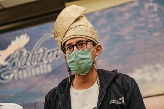 Sandiaga Uno Kepincut Pengen Beli Motor Listrik Made In Lombok