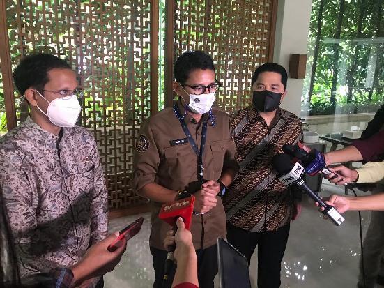 Ketika 3 Mas Menteri Kompakan Dorong Pariwisata RI Mendunia