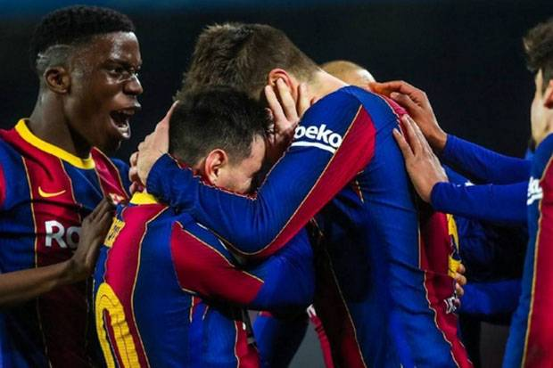 Dramatis, Jungkalkan Sevilla, Barcelona Selangkah Lagi Angkat Trofi Copa del Rey