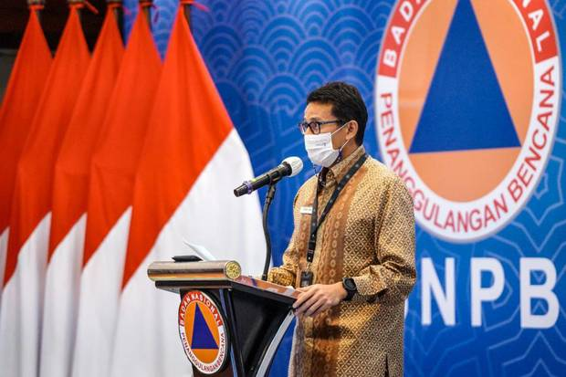 Gandeng BNPB, Sandiaga Uno Petakan Masalah dan Solusi Penanganan Covid-19 Demi Pulihkan Pariwisata