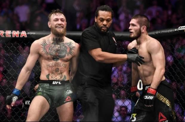 Khabib Bercanda Wasit Herb Dean Dibayar Biarkan McGregor Curang!