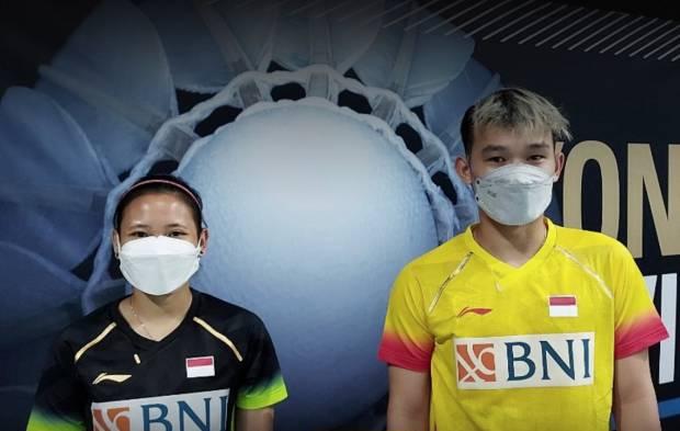 Rinov/Pitha Tumbang, Ganda Campuran Indonesia Punah di Swiss Open 2021
