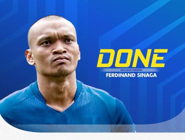 Wilujeng Sumping! Ucap Persib Bandung kepada Ferdinand Sinaga