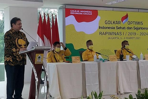 Hasil Rapimnas, Golkar Institute Dipertahankan dan Dilanjutkan