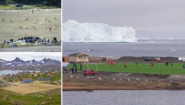 Musim Sepak Bola Terpendek di Dunia: Main 7 Hari di Gunung Es dan Paus