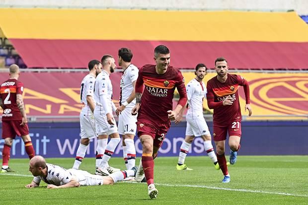 AS Roma Kembali ke Empat Besar Usai Bungkam Genoa