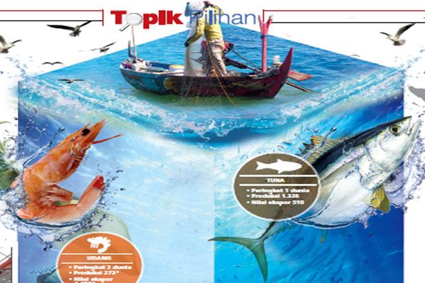 Ekspor Produk Perikanan Mudah, 4,2 Ton Tuna Terbang dari Manado ke Singapura