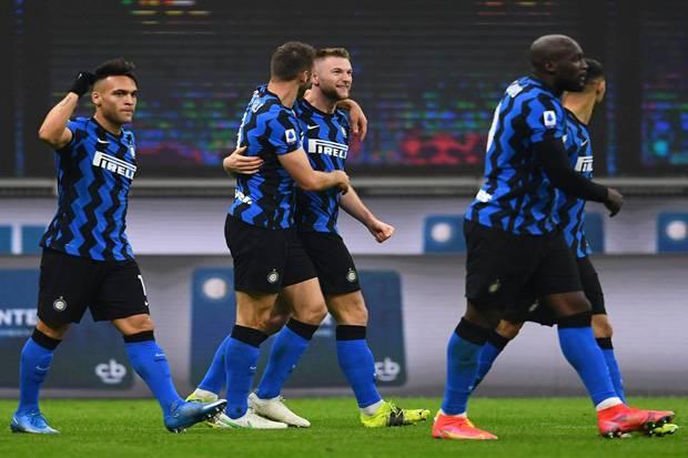Jago Kandang, Inter Milan Tumbangkan Atalanta