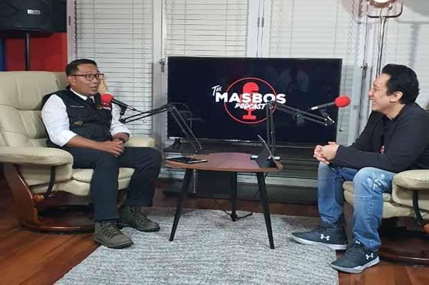 Diaz dan Ridwan Kamil Bahas Penanganan Covid-19 hingga Toleransi di Jabar