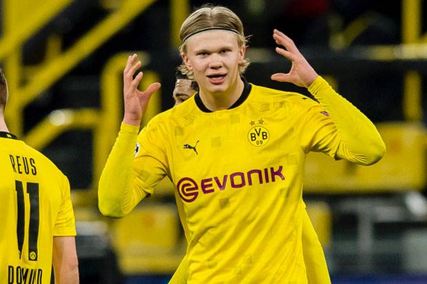 Loloskan Dortmund; Haaland Cetak 2 Sejarah Baru, Lampaui Harry Kane, Mbappe  dan Messi