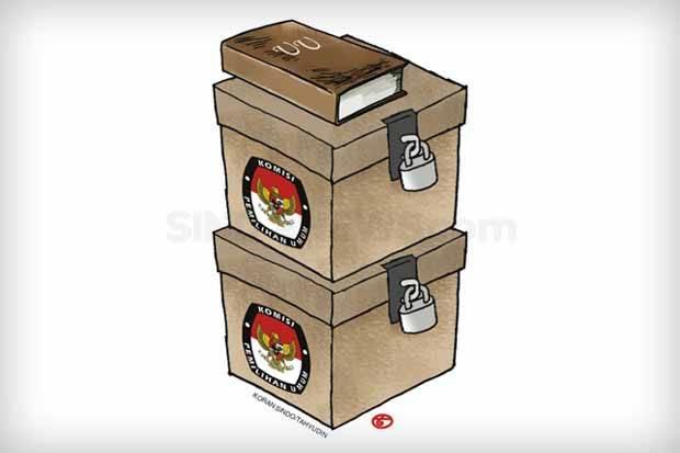 Revisi UU Pemilu Batal, Burhanuddin Soroti Legitimasti Plt Kepala Daerah