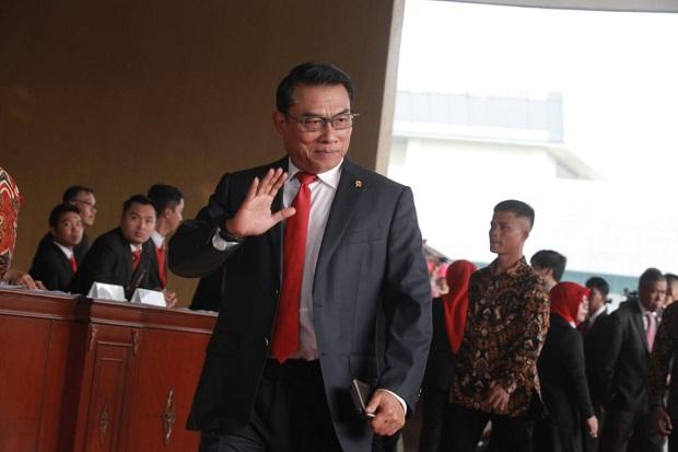 Moeldoko Disebut Siap Tinggalkan Kabinet, 4 Jenderal Calon Penggantinya Mencuat