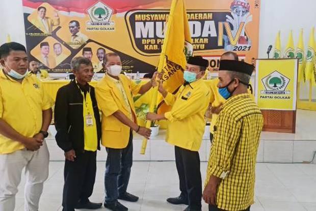 Yaumil Ambo Djiwa Kembali Dipercaya Pimpin DPD Golkar Kabupaten Pasangkayu