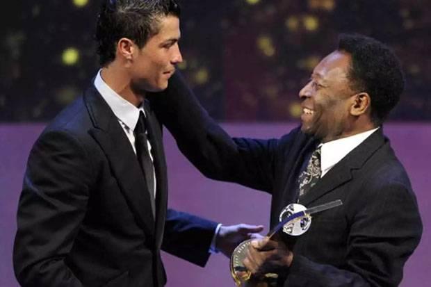 Pele Akui Rekor Gol Ronaldo: Selamat! Penyesalan Saya Adalah...