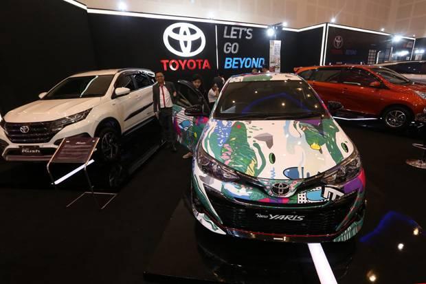 Penjualan Mobil Astra Turun Tipis di Februari 2021