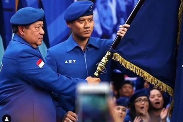 KLB Demisionerkan AHY dan SBY, Kubu Moeldoko: Kegiatan Mereka Ilegal