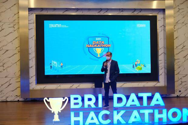 Konsisten Transformasi Digital, BRI Data Hackathon 2021 Tantang Ide Inovatif 11.599 Peserta