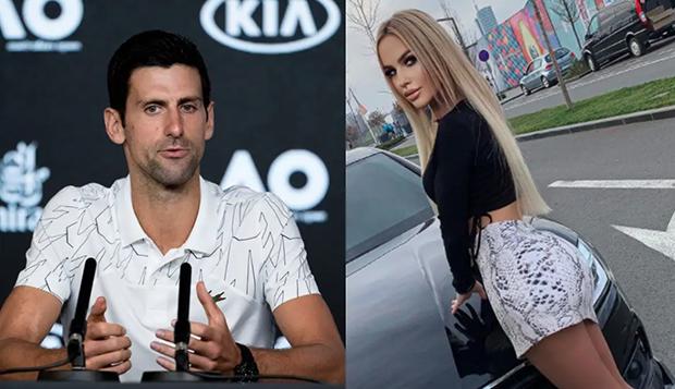 Model Seksi Ngaku Ditawari Rp1 Miliar untuk Seret Djokovic ke Ranjang