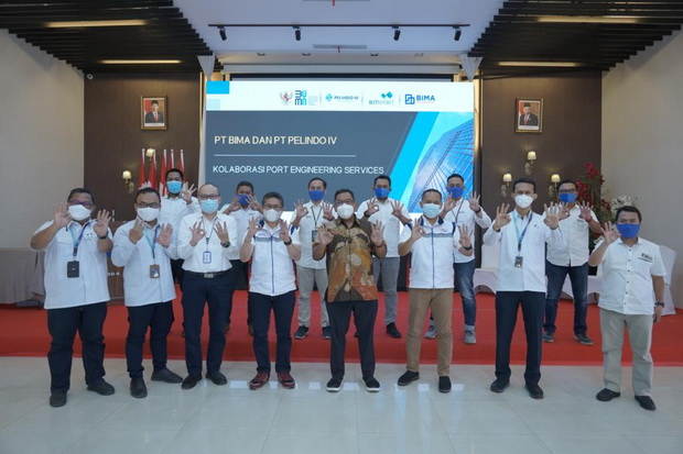 BIMA Pelindo IV-BIMA Eratkan Kolaborasi Engineering Pelabuhan | Halaman 2