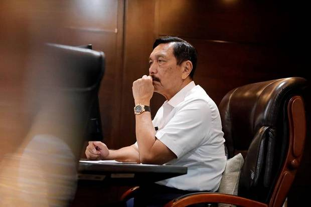 Luhut Dapat PR dari Jokowi , Disuruh Bentuk Satgas Omnibus Law Cipta Kerja