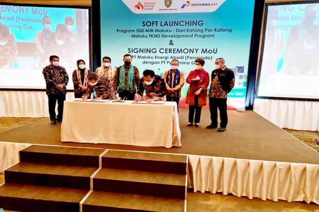 Pertamina Gas Dukung Program 500 Megawatt Maluku dan Pengembangan Tenaga Kerja Nasional Daerah