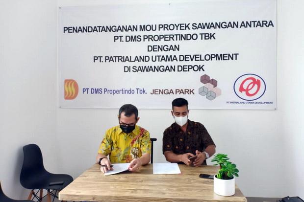 KOTA Kembangkan Properti Berkonsep Modern, DMS Propertindo dan Patrialand Teken KSO