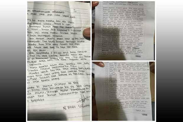 Surat Wasiat Pelaku Bom Makassar dan Penyerang Mabes Polri Miliki Kemiripan